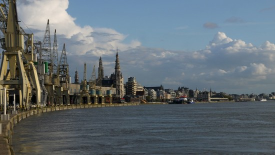 Antwerp, view from river