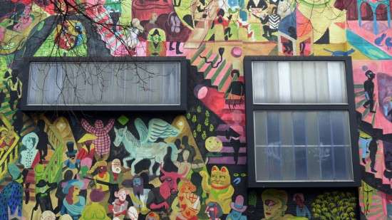 Anvers, mural Brecht Evens