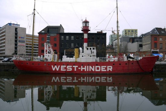 Anvers, West Hinder boat
