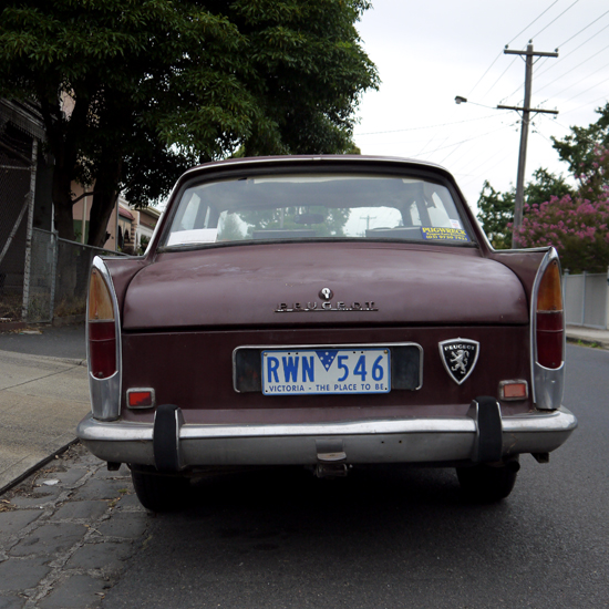Melbourne, Coburg, old Peugeot car