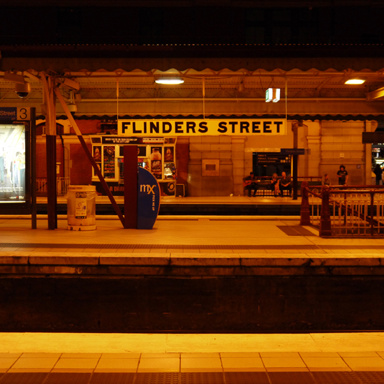 Melbourne, Flinder Street Station