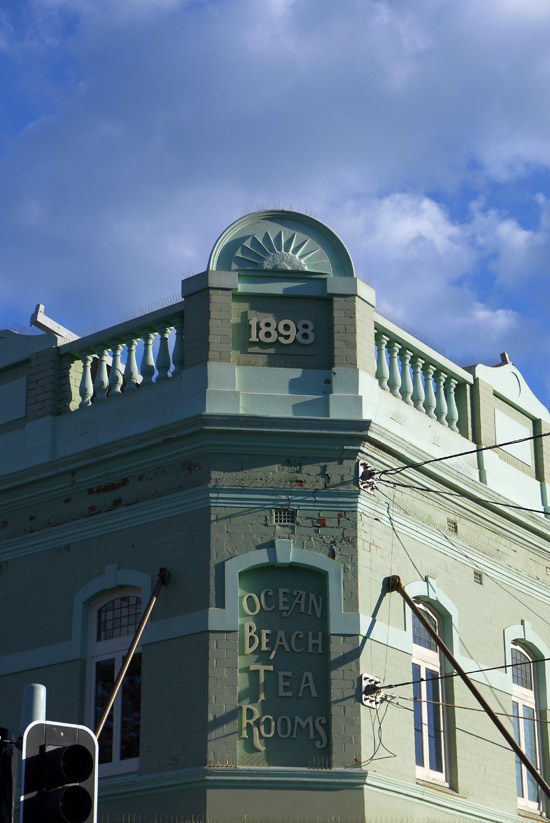 Sydney, Manly, old facade