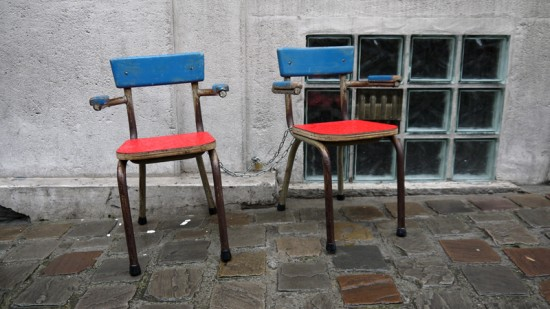 Brussels, kid chairs