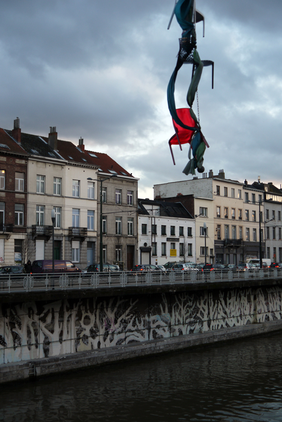 Brussels, flying chair