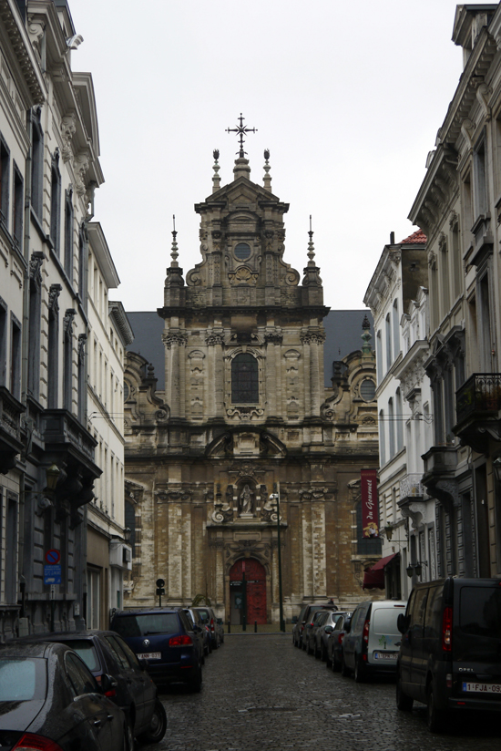 Brussels, Eglise du béguinage