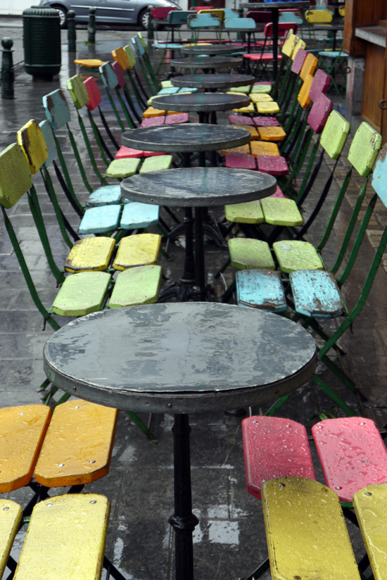 Brussels, chairs @ Zebra