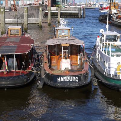 Hambourg, Boat