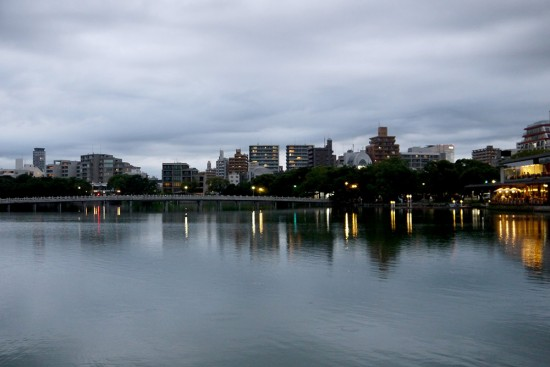 Fukuoka, view on the river