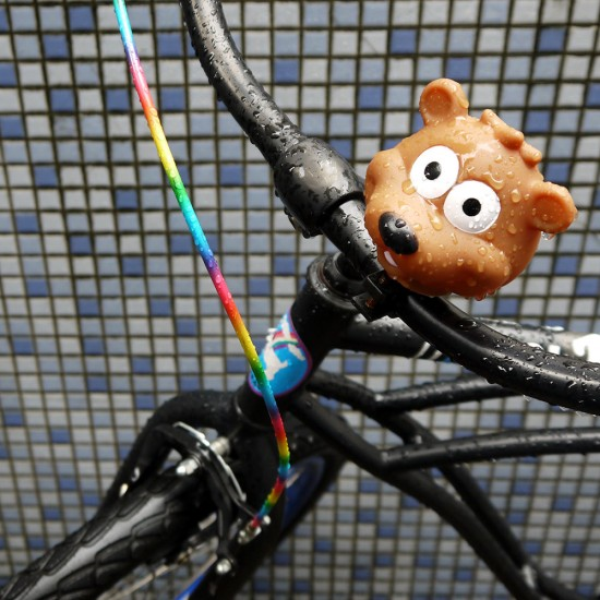 Fukuoka, bike with bear bike