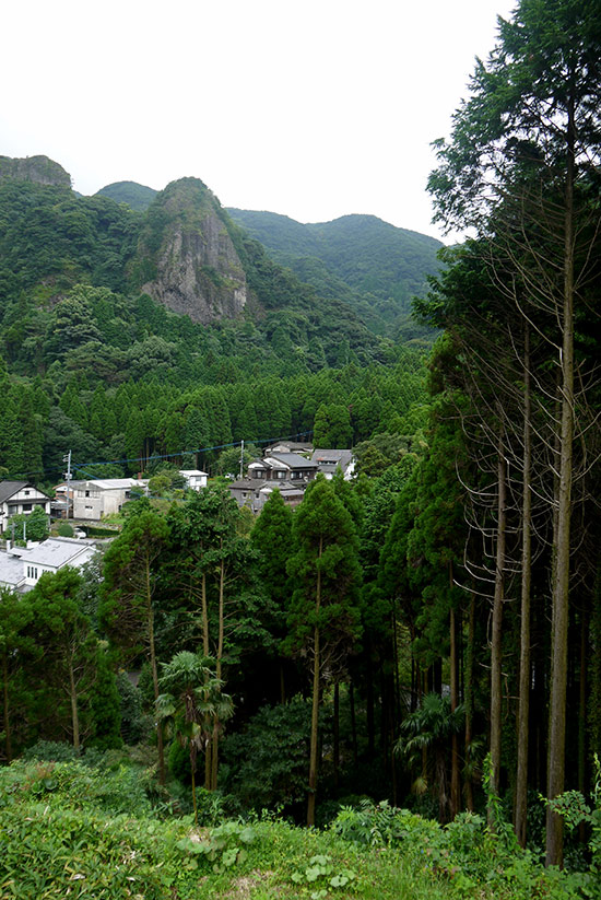 Imari village and forest