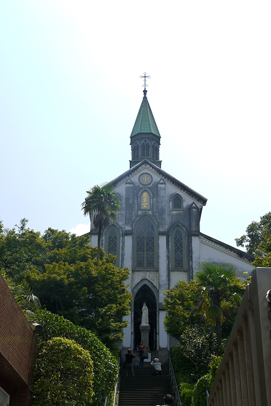 Nagasaki, Oura catholic church