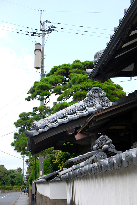 Shimabara, roof details