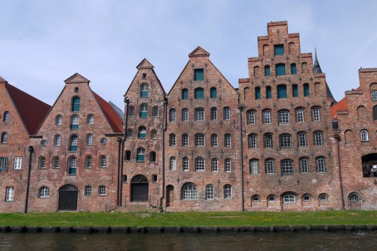 Lubeck, old houses
