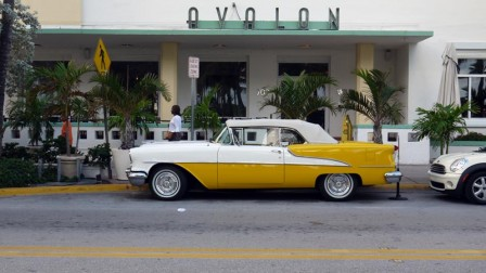 Miami, South Beach, Avalon & Old Car