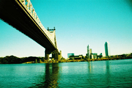 New York, oct. 2012 // Lomo // Queensborough Bridge