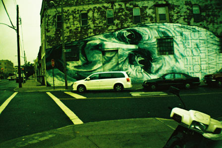 New York, oct. 2012 // Lomo // Flushing Ave & Scott Ave