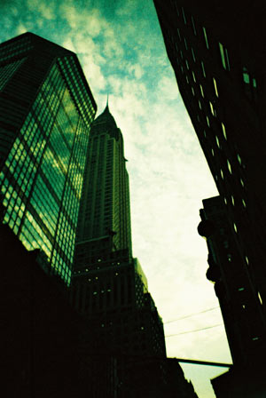 New York, oct. 2012 // Lomo // Chrysler Building
