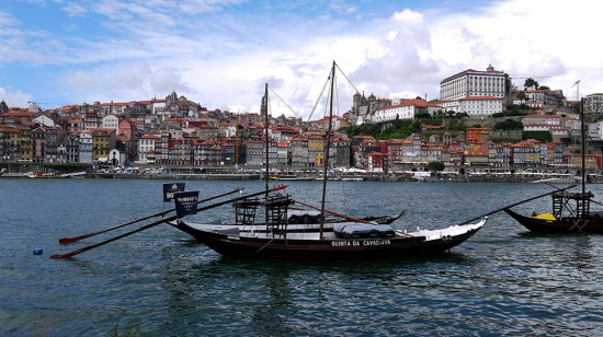 Porto, typical boat on Douro