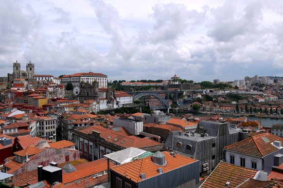 Porto, view from Se Cathedral