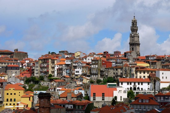 Porto, view from miradouro Bento da Vitoria