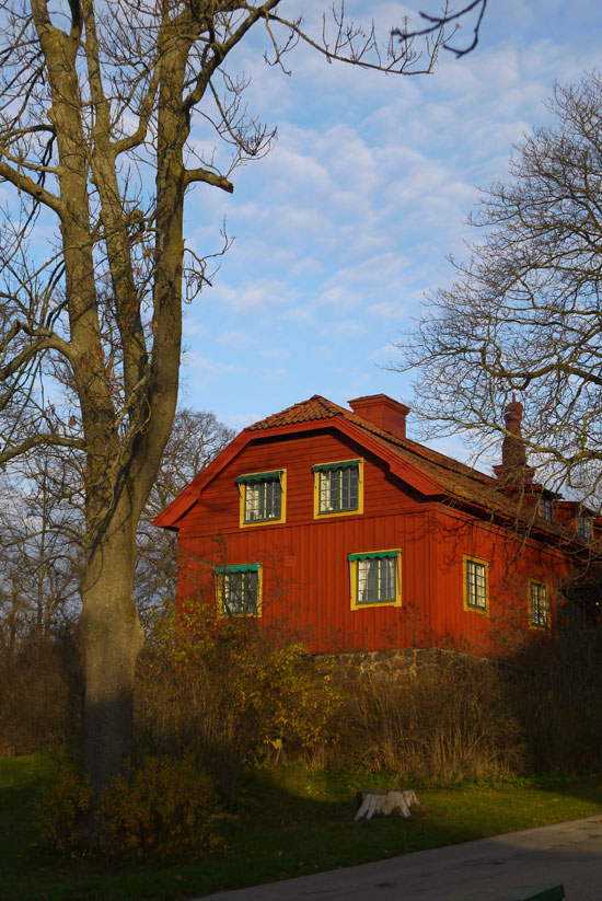 Stockholm, Skansen museum, Red row office